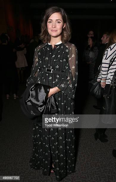 Rose Byrne attends the after party for Open Roads Films' Screening of 'Spotlight' on November 3 2015 in Los Angeles California