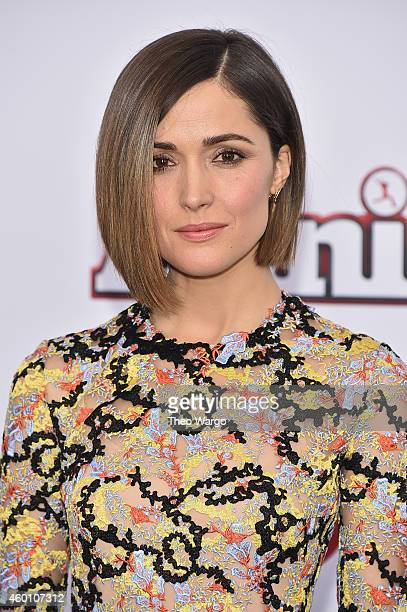 Rose Byrne attends the 'Annie' World Premiere at Ziegfeld Theater on December 7 2014 in New York City