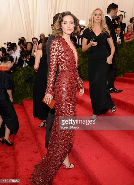 Rose Byrne attends the 'China Through The Looking Glass' Costume Institute Benefit Gala at Metropolitan Museum of Art on May 4 2015 in New York City