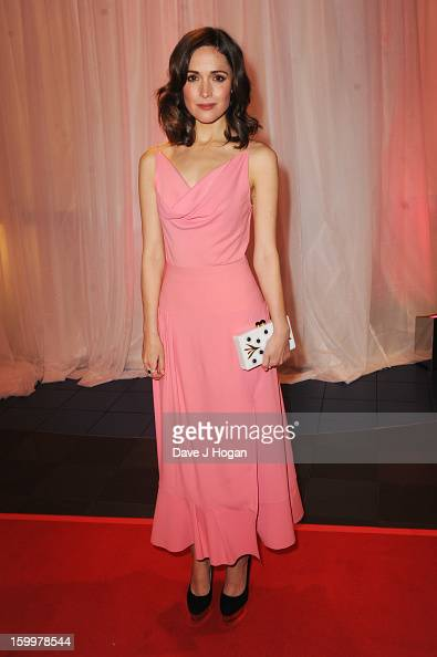 Rose Byrne attends the European premiere of 'I Give It A Year' at The Vue West End on January 24 2013 in London England