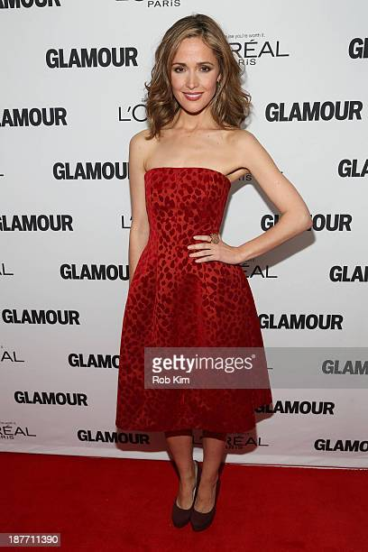 Rose Byrne attends the Glamour Magazine 23rd annual Women Of The Year gala on November 11 2013 in New York United States