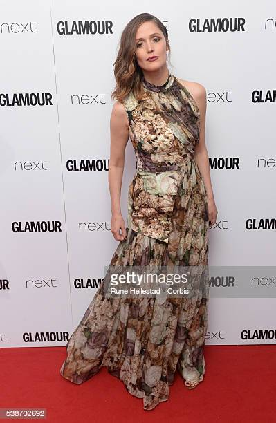 Rose Byrne attends the Glamour Women Of The Year Awards at Berkeley Square Gardens on June 7 2016 in London England