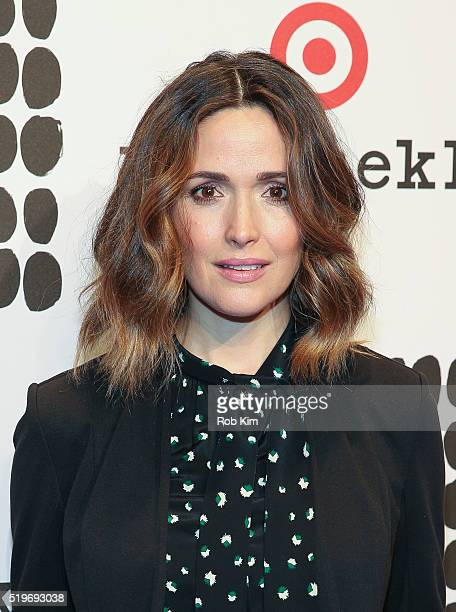 Rose Byrne attends the launch of Marimekko For Target at The High Line on April 7 2016 in New York City