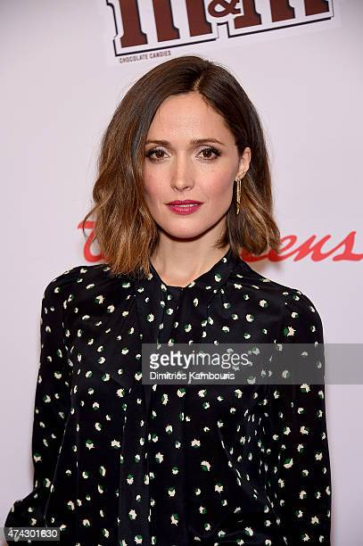 Rose Byrne attends the Red Nose Day Charity Event at Hammerstein Ballroom on May 21 2015 in New York City