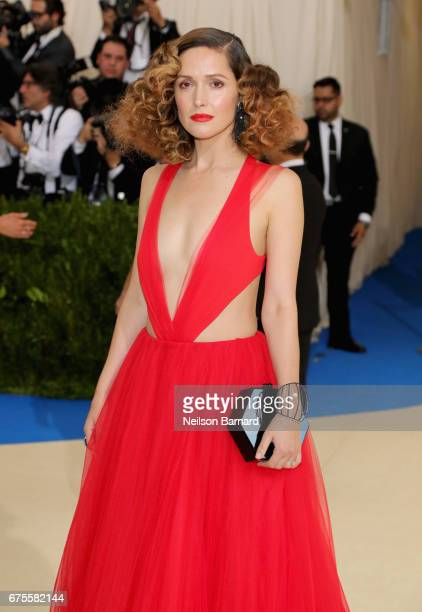 Rose Byrne attends the 'Rei Kawakubo/Comme des Garcons Art Of The InBetween' Costume Institute Gala at Metropolitan Museum of Art on May 1 2017 in...