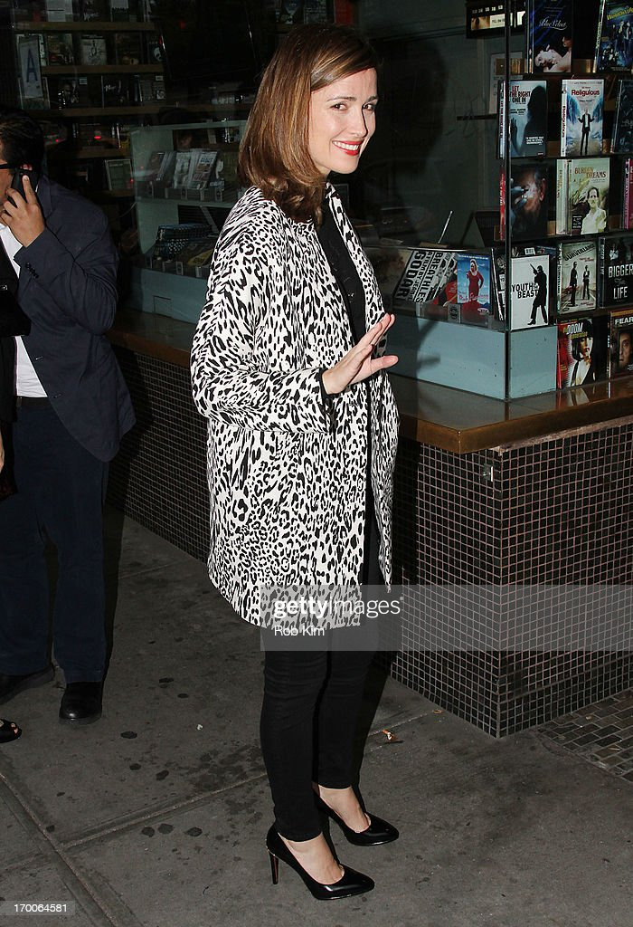 Rose Byrne atttends GirardPerregaux And The Cinema Society With DeLeon Host a Screening Of Sony Pictures Classics' 'I'm So Excited' at Sunshine...