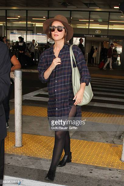 Rose Byrne is seen at LAX on October 22 2015 in Los Angeles California