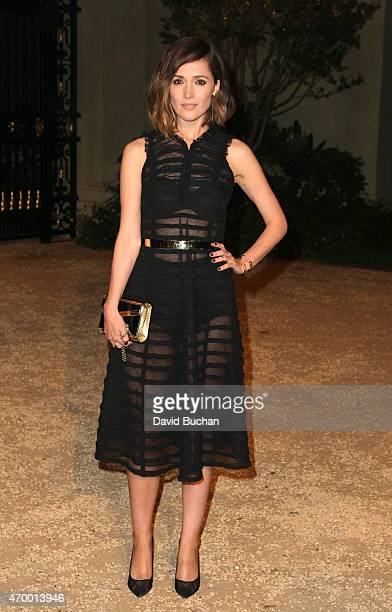Rose Byrne the Burberry 'London in Los Angeles' event at Griffith Observatory on April 16 2015 in Los Angeles California
