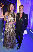 Rose Byrne winner of the Comedy Actress award and Julien Macdonald attend the Glamour Women Of The Year Awards in Berkeley Square Gardens on June 7...