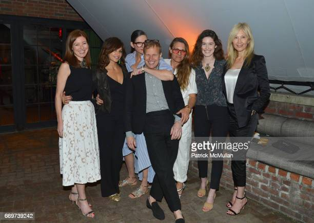 Rose Dergan Gina Gershon Jenna Lyons Will Cotton Courtney Crangi Madeline Wallace and Janet Wallace attend The Turtle Conservancy's 4th Annual Turtle...