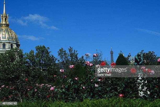 Rose Garden at the Rodin Museum on May 28 1997 in Paris France