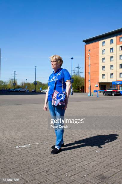 Rose Grimes who has been a fan of Leicester City for 47 years outside the King Power stadium On the 2nd May 2016 Leicester City football club became...