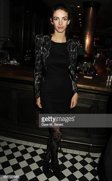 Rose Hanbury attends Bryan Ferry's album launch for 'Olympia' at the Dean Street Townhouse on October 19 2010 in London England