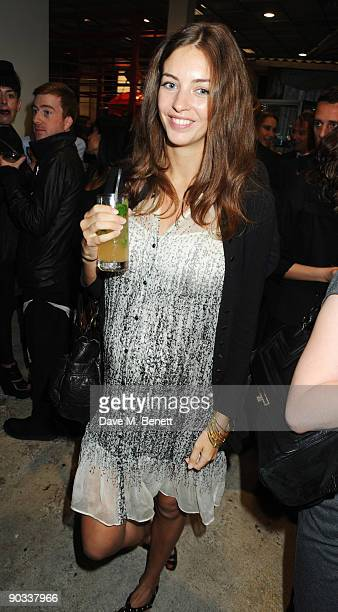 Rose Hanbury attends the launch of Daphne Guinness' new fragrance 'Daphne' at Dover Street Market on September 3 2009 in London England