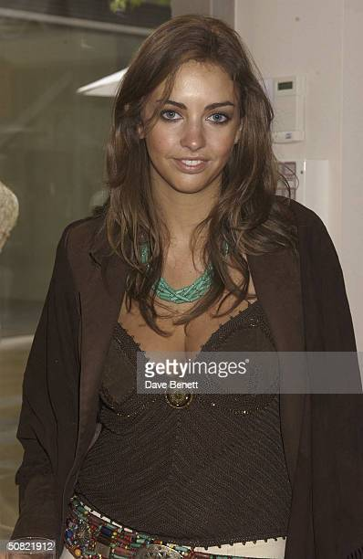 Rose Hanbury attends the Opening of 'Pantalon Chameleon' Store at the Duke of York Square in Chelsea on May 21 2003 in London