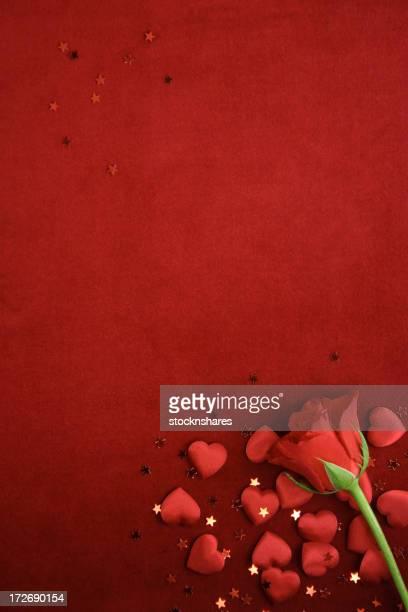 Rose & Hearts