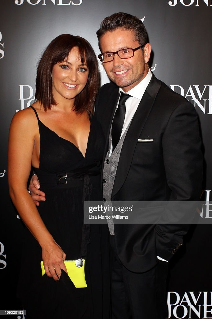 Rose Kelly and Steve Jacobs attends the David Jones 175 year celebration at David Jones on May 23, 2013 in Sydney, Australia.