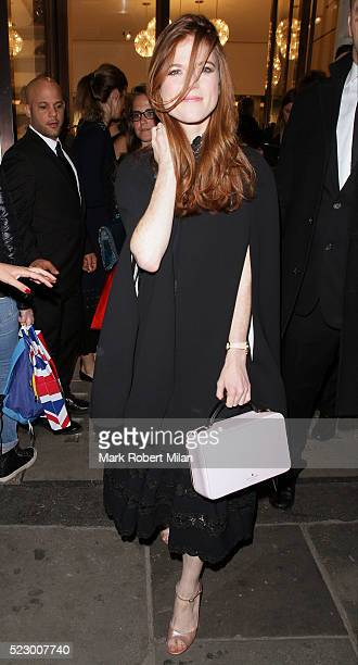 Rose Leslie attending Kate Spade New York flagship store opening party on April 21 2016 in London England