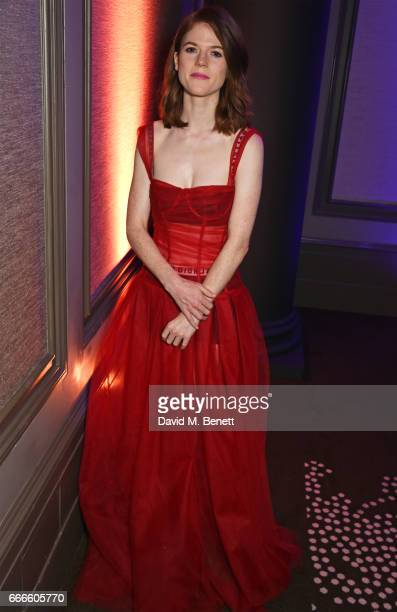 Rose Leslie attends The Olivier Awards 2017 after party at Rosewood London on April 9 2017 in London England