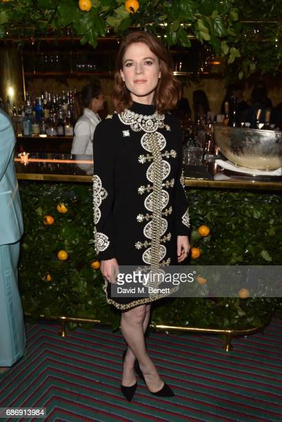 Rose Leslie attends the Tory Burch Regent Street opening After Partyat Isabel on May 22 2017 in London England