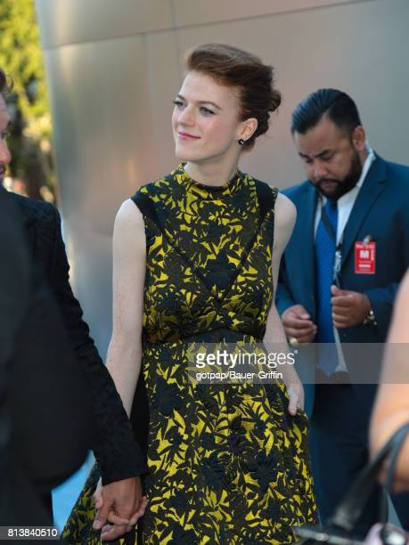 Rose Leslie is seen on July 12 2017 in Los Angeles California