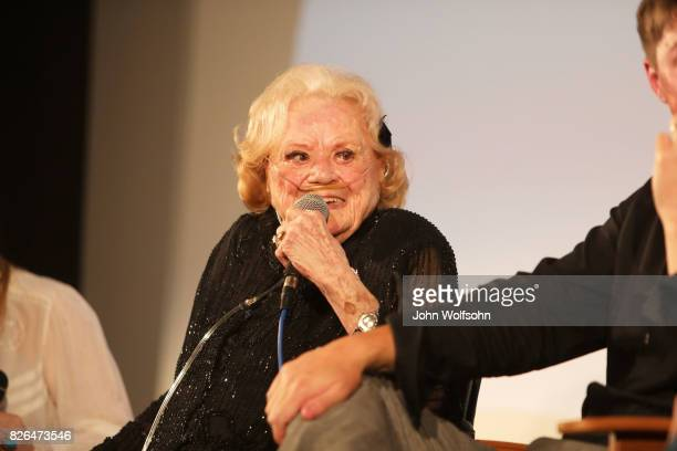 Rose Marie attends the special screening and QA 'Rose Marie Wait for Your Laugh' at Aero Theatre on August 3 2017 in Santa Monica California