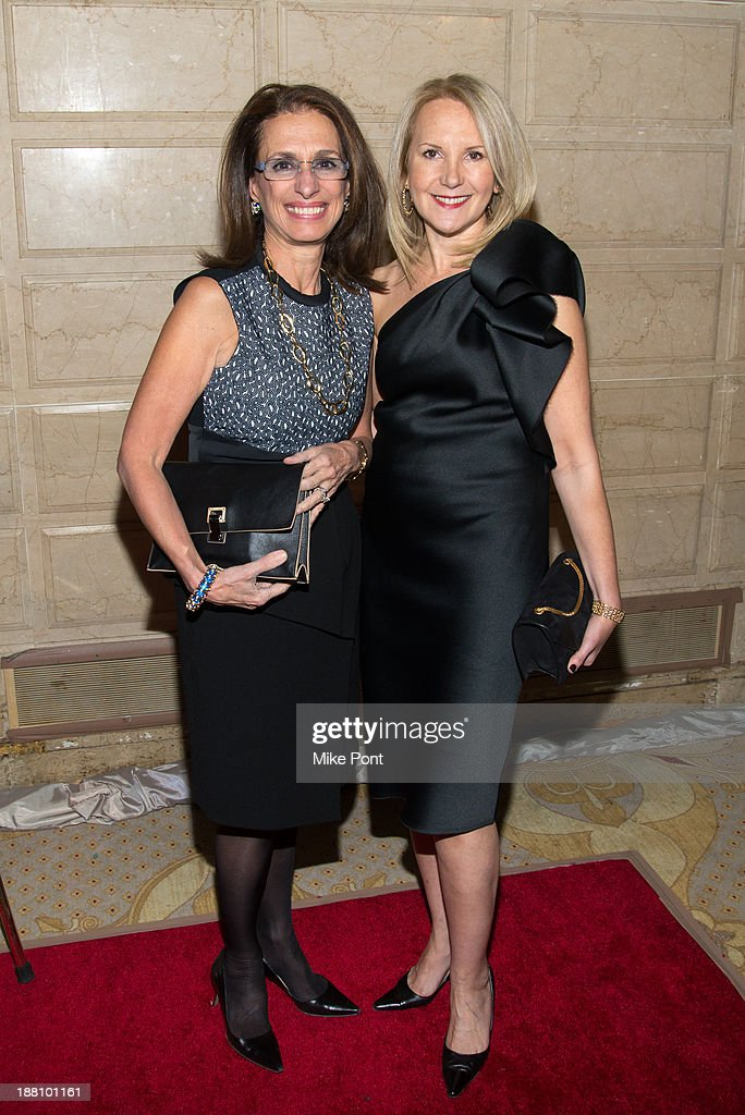 Rose Marie Bravo and Marla Sabo attend the 20th New York Landmarks Conservancy's Living Landmarks Ceremony at The Plaza Hotel on November 14, 2013 in New York City.