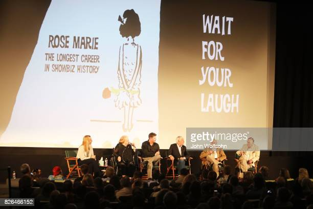 Rose Marie Jason Wise Dick Van Dyke Carl Reiner and Peter Marshall attend the special screening and QA 'Rose Marie Wait for Your Laugh' at Aero...