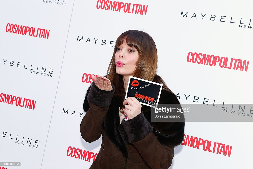 <a gi-track='captionPersonalityLinkClicked' href=/galleries/search?phrase=Rose+McGowan&family=editorial&specificpeople=206451 ng-click='$event.stopPropagation()'>Rose McGowan</a> attends 2012 Kisses For The Troops at Times Square on November 12, 2012 in New York City.