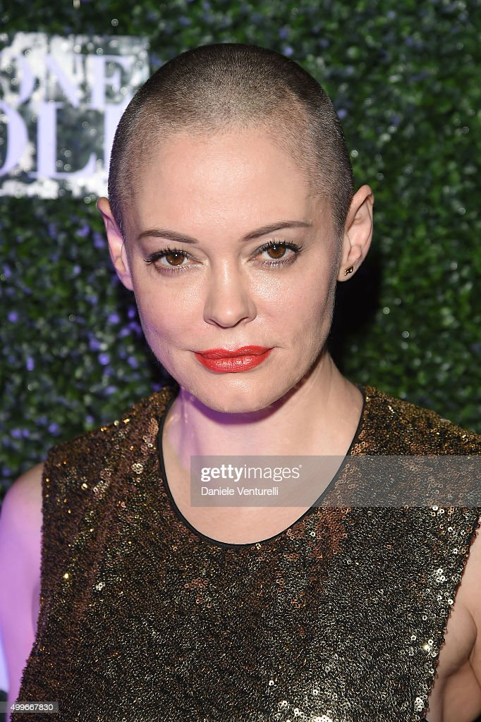 <a gi-track='captionPersonalityLinkClicked' href=/galleries/search?phrase=Rose+McGowan&family=editorial&specificpeople=206451 ng-click='$event.stopPropagation()'>Rose McGowan</a> attends Celebration for Francesco Vezzoli's Ossessione Vezzoli at Nautilus Hotel on December 2, 2015 in Miami Beach, Florida.