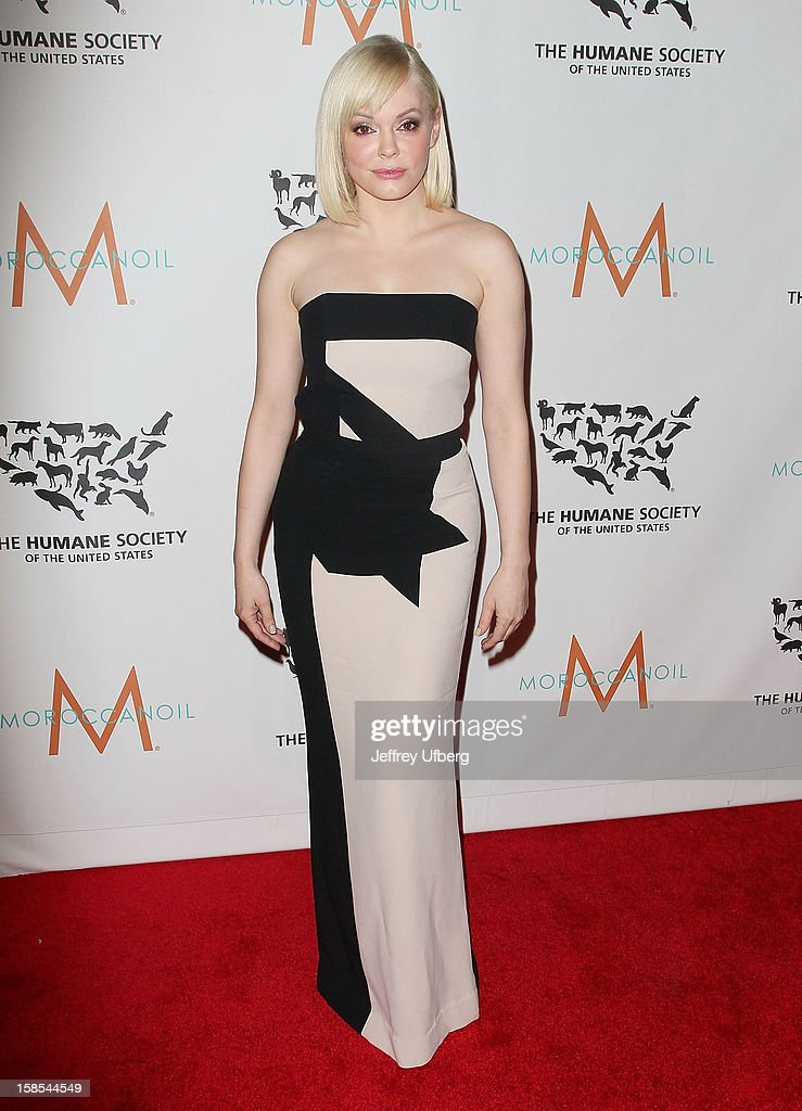 <a gi-track='captionPersonalityLinkClicked' href=/galleries/search?phrase=Rose+McGowan&family=editorial&specificpeople=206451 ng-click='$event.stopPropagation()'>Rose McGowan</a> attends The Humane Society of the United States presents To The Rescue! gala benefiting post hurricane Sandy efforts at Cipriani 42nd Street on December 18, 2012 in New York City.