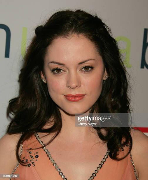Rose McGowan during 'I Heart Huckabees' Los Angeles Premiere Arrivals at The Grove in Hollywood California United States