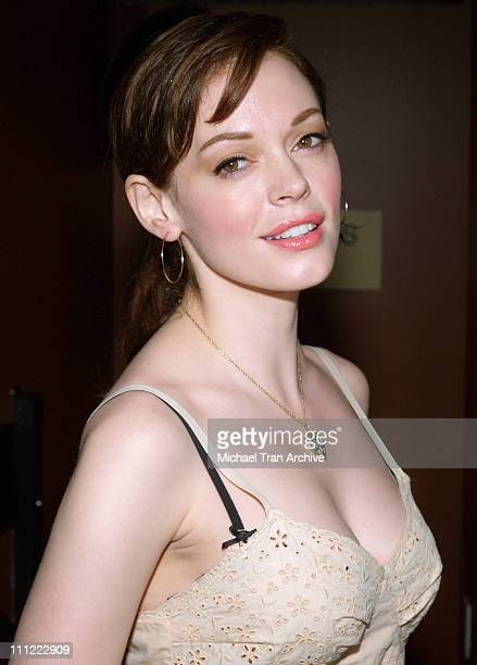 Rose McGowan during Karaoke Fundraiser to Benefit The Art of Elysium at The Maple Drive in Beverly Hills California United States