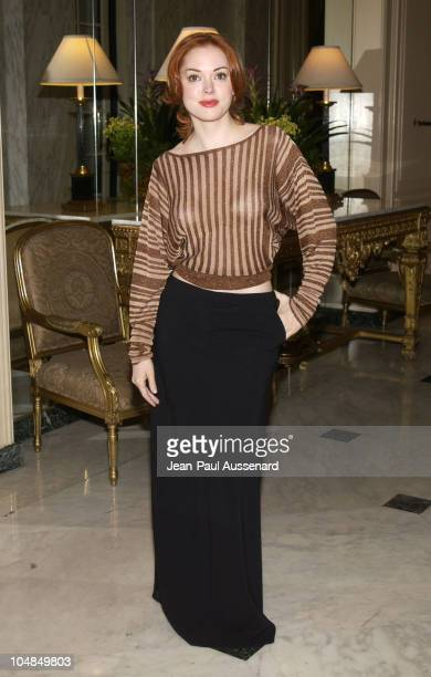 Rose McGowan during Los Angeles Free Clinic's 26th Annual Dinner Gala at Wilshire Beverly Regent Hotel in Beverly Hills California United States