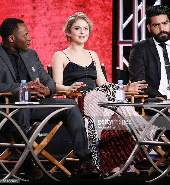 Rose McIver for the 'iZombie' television show speaks onstage during the 2017 Winter TCA Tour Panels CW held at The Langham Huntington Hotel and Spa...