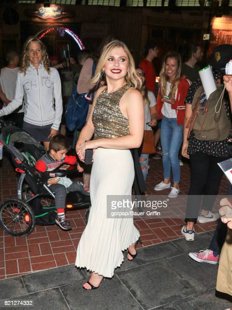 Rose McIver is seen on July 22 2017 in San Diego California