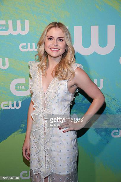 Rose McIver of the series 'iZombie' attends The CW Network's 2016 New York Upfront Presentation at The London Hotel on May 19 2016 in New York City