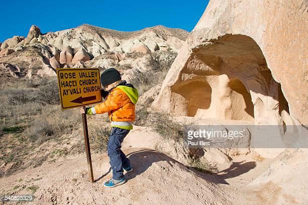 Rose Valley Meskendir Hiking Trail, Cappadocia
