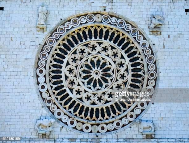Rose window of Basilica of San Francesco, Assisi