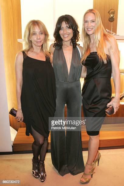 Roseanna Arquette Lisa Edlestein and Kelly Lynch attend Debi Mazar and Adrian Grenier Host Salvatore Ferragamos Benefit for LAUILA EARTHQUAKE Victims...
