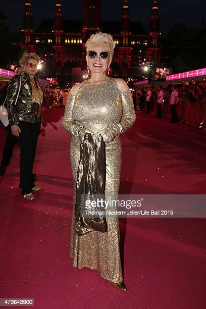 Roseanne Barr attends the Life Ball 2015 at City Hall on May 16 2015 in Vienna Austria