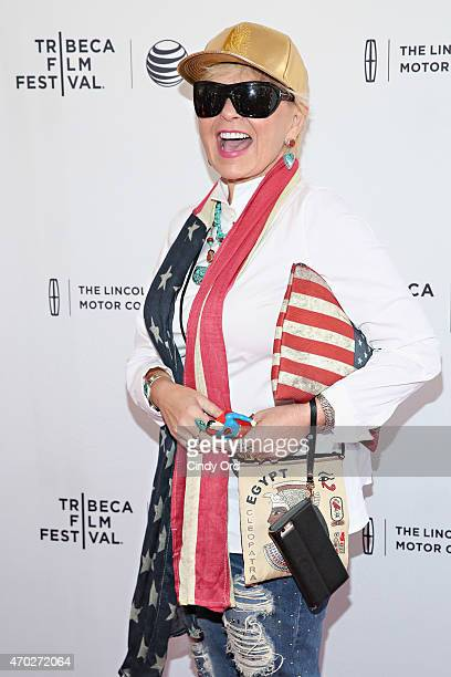Roseanne Barr attends the world premiere of documentary 'Roseanne For President' during the 2015 Tribeca Film Festival at SVA Theatre on April 18...