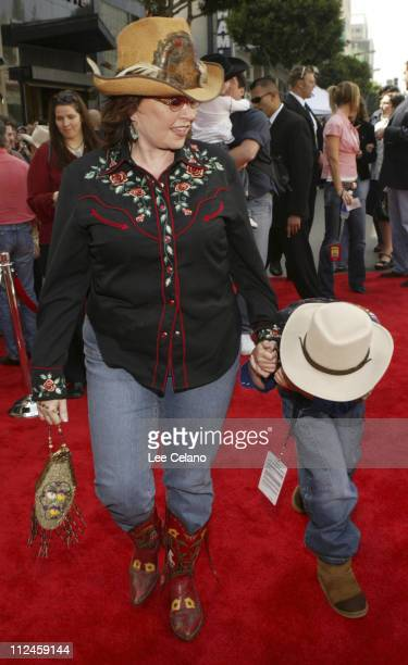Roseanne Barr during 'Home on the Range' Premiere Red Carpet at El Capitan Theatre in Hollywood California United States