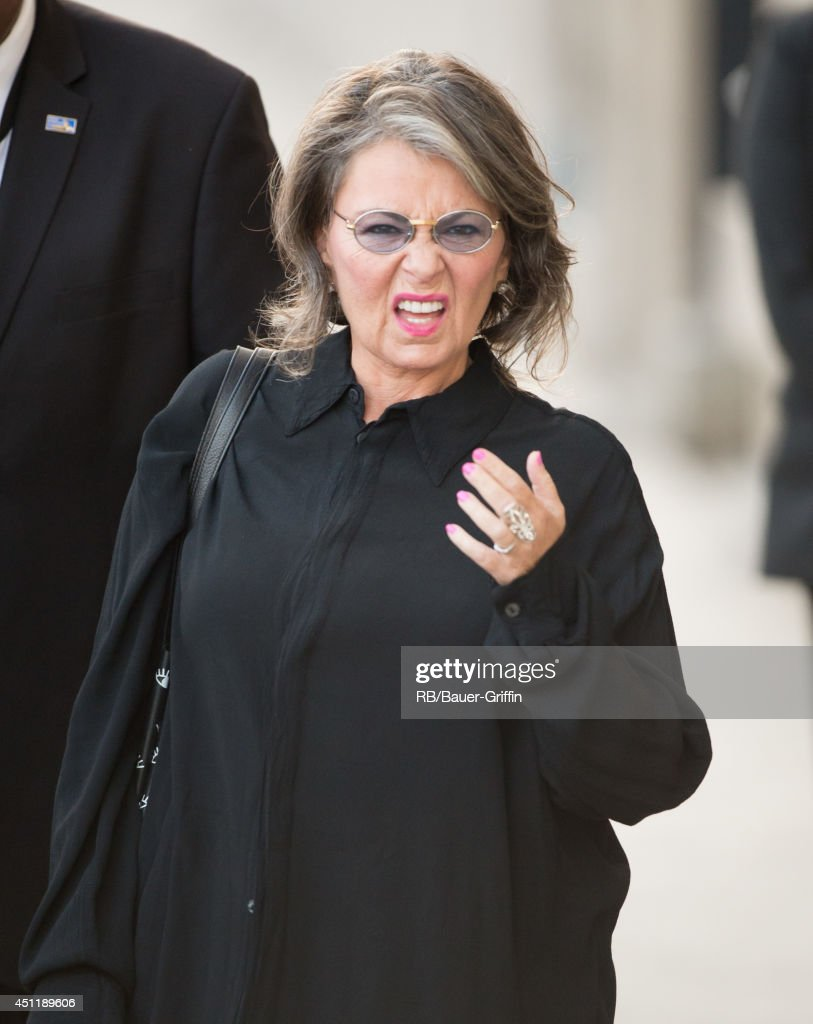 <a gi-track='captionPersonalityLinkClicked' href=/galleries/search?phrase=Roseanne+Barr&family=editorial&specificpeople=228388 ng-click='$event.stopPropagation()'>Roseanne Barr</a> is seen in Hollywood on June 24, 2014 in Los Angeles, California.