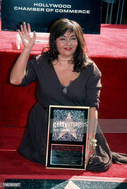 Roseanne during Rosanne Honored with Star on Hollywood Walk of Fame at Hollywood Walk of Fame in Hollywood California United States