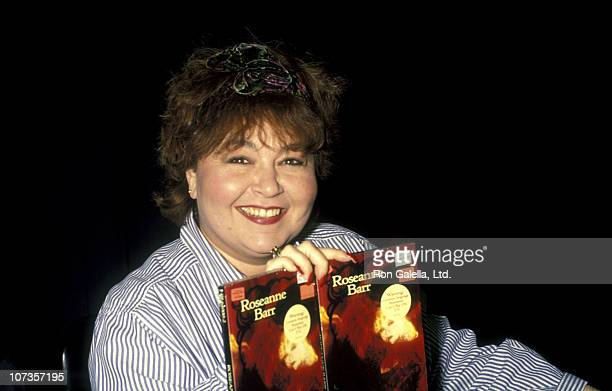 Roseanne during Roseanne Signs Her New Album 'I Enjoy Being A Girl' at Tower Records in Westwood December 4 1990 at Tower Records in Westwood...