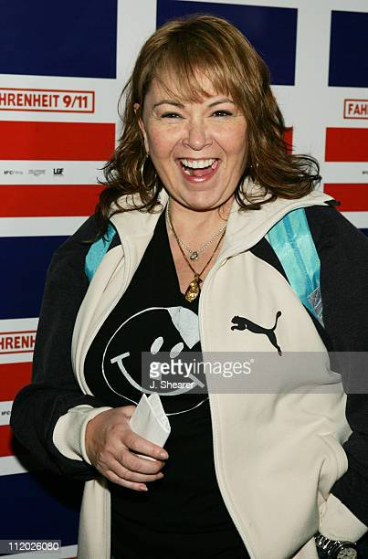 Roseanne during Words and Music in Honor of 'Fahrenheit 9/11' Arrivals at House of Blues in West Hollywood California United States