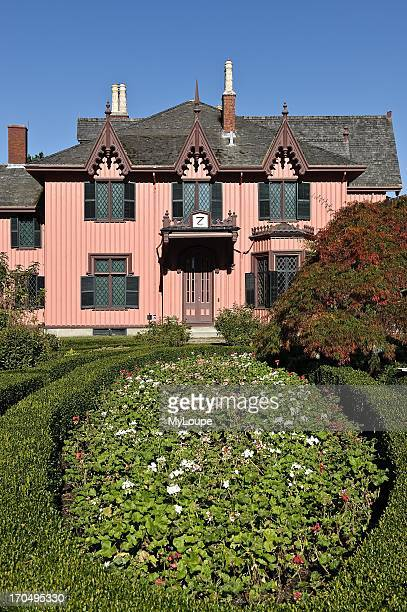 Roseland Cottage and gardens Woodstock Connecticut CT United States
