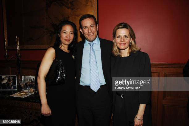 Roselyn Crystal Jim Crystal and Kirsten Morgan attend Michelle Marie Heinemann Alex Lari Host the Auction Preview Party for the DILLERQUAILE SCHOOL...
