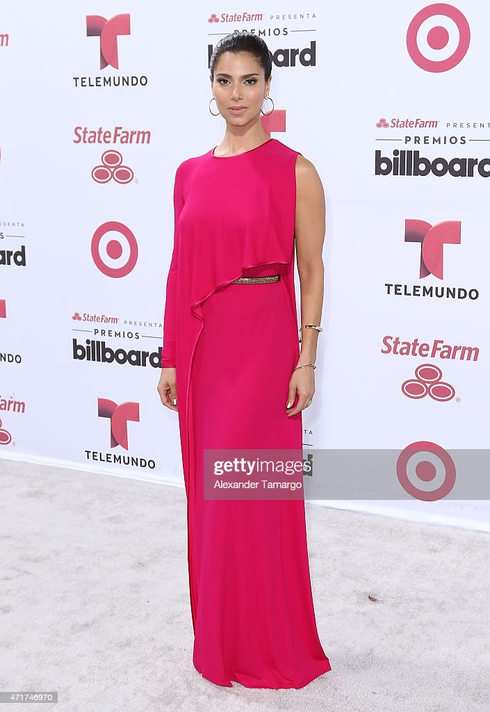 Roselyn Sanchez arrives at 2015 Billboard Latin Music Awards presented by State Farm on Telemundo at Bank United Center on April 30, 2015 in Miami, Florida.